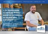 """Témoignage de Jean-Christophe - Charpentier """"Quand on commence avec Rivalis, on ne peut plus s'en passer !"""""""